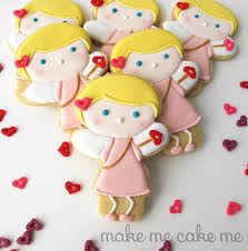 cupid cookies from a snowman cutter cookie connection