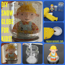 diy snow globe for kids