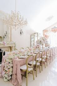 renting tablecloths for weddings la tavola linen rental liza blush nuovo chagne