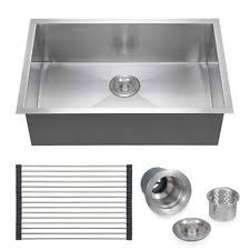 kitchen sink stainless steel white faucets ebay