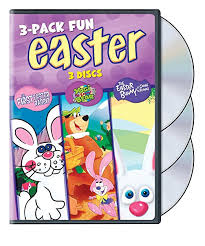 here comes cottontail dvd easter pack 3 pack various tv