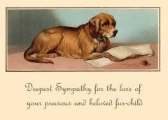 dog condolences sympathy cards historystore online ltd uk