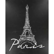 eiffel tower decorations eiffel tower canvas wall decor hobby lobby 348003