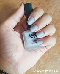 nykaa matte nail lacquer in blueberry frosting review colors of