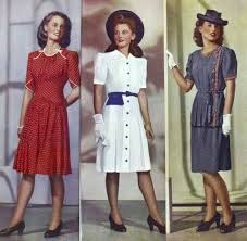 1940s dresses αποτέλεσμα εικόνας για 40 s women s fashion trends trends 40 s