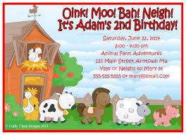 Funny Birthday Invitation Cards Farm Birthday Invitations U2013 Gangcraft Net