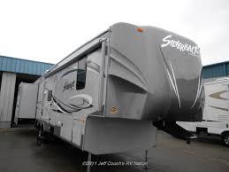 2012 cedar creek silverback 35qb4 5th wheel silver edition