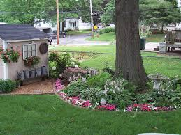 going to make a flower bed around the tree in our front yard this