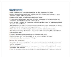 combination resume template u2013 10 free word excel pdf format