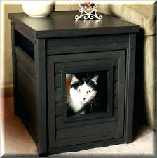 litter box side table litter box furniture plans side table for house ideas black end