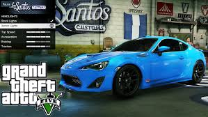 subaru brz custom 2013 subaru brz gta v car mod tuning soley911 youtube