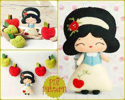 pdf the snow white garland pattern tale pattern plush