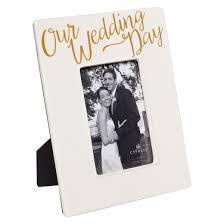 Our Wedding Photo Album Our Wedding Day Ceramic Photo Frame Target