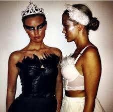 Female Construction Worker Halloween Costume Black White Swan Costume Perfect Costumemania