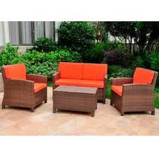Resin Patio Table And Chairs Resin Patio Furniture Wayfair