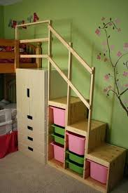 full loft bed plans amazoncom bunk bed all in 1 loft with trundle