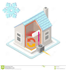 House Plumbing System Plumbing Water Heating System Isometric View Stock Vector Image