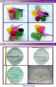 hook rug kit diy unfinished crocheting yarn mat latch hook rug kit