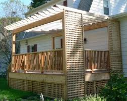 Fence Ideas For Backyard by 54 Best Lattice U0026 Fence Ideas Images On Pinterest Privacy Fences