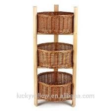 Tiered Bathroom Storage Bathroom 3 Tier Willow Storage Baskets Tiered Storage Basket Buy