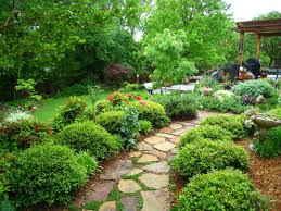 Exterior  Beautiful Interior And Landscape Design Imanada Garden - Asian backyard designs