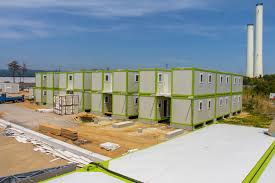 flat pack container prefab construction and materials platform