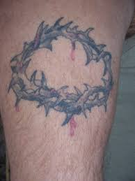 crown of thorns tattoo picture