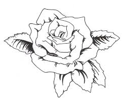 download simple rose tattoo stencil danielhuscroft com