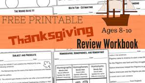 free printable thanksgiving day preschool workbook miniature