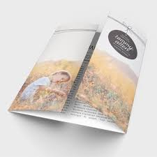 sle of funeral programs 30 best funeral program templates images on memorial