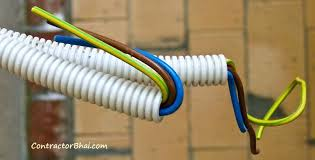 what is electrical wiring illustration showing electrical wire