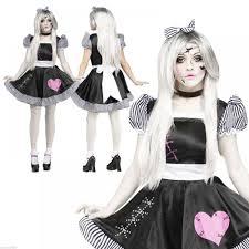 Broken Doll Makeup For Halloween by Ladies Broken Zombie Baby Doll Halloween Fancy Dress Costume