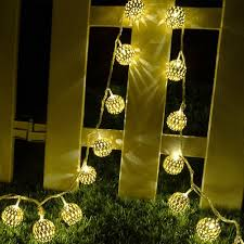 Hanging Tree Lights by Not Just Another Southern Gal 12 Led 2 Modes Solar Light Yellow