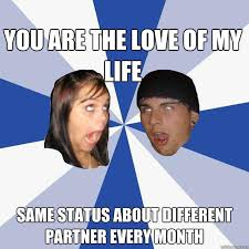 Funny Couples Memes - annoying facebook couple memes quickmeme