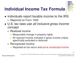 chapter 4 individual income tax overview overview exemptions