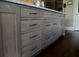 Gray Stained Kitchen Cabinets Cabinet Stain Gray And Stains On Pinterest Family Spaces