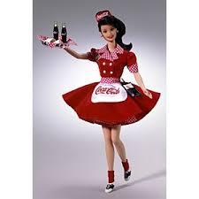 Coca Cola Halloween Costume Dress Coca Cola Barbie Dolls Barbie Signature