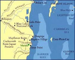 south america map belize destination specialists custom fit travel tours to central