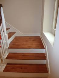 Stairs With Landing by Nailing The Stair Nose On Top With A Nail Gunwood Flooring For