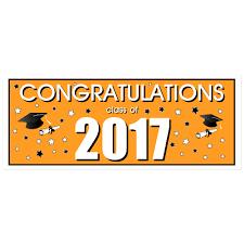 congratulations graduation banner congratulations class of 2017 graduation banner orange paper blast