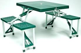 fold out picnic table fold up garden table and chairs wooden folding interchangeable