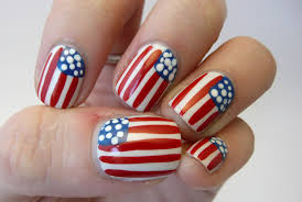 casa de polish flag nails happy birthday america