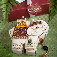 traditional indian wedding favors traditional indian elephant design curio boxes wedding favors