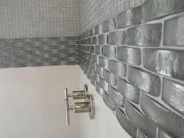 Modern Gray Tile Bathroom Gray Glass Tile Awesome 5 Modern White Marble Metal Kitchen