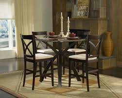 best counter height dining sets with pedestal dining table unify