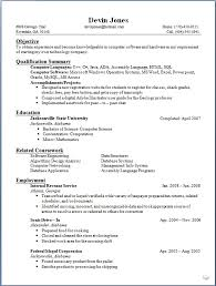 Resume Form For Job by Resume Formatting Software