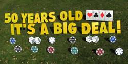 yard greetings rentals michigan happy birthday lawn sign u0026 cards