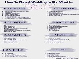 wedding planner license wedding planning how to plan a wedding in six months actually