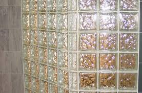 shower ideal glass blocks in shower design lovely install glass