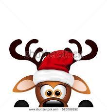 christmas reindeer christmas background santa reindeer stock vector 531915091